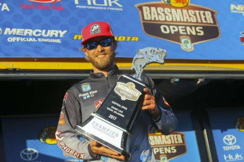 My 2nd Bassmaster Open Championship! Central Open #3, Grand Lake, OK, 10/9/17