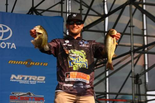 A 2014 Elite Series weigh-in.